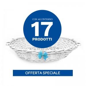 Special Pack «Cesto Nascita» - Azzurro