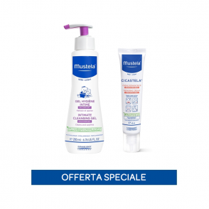 Special pack Gel detergente intimo+Cicastela