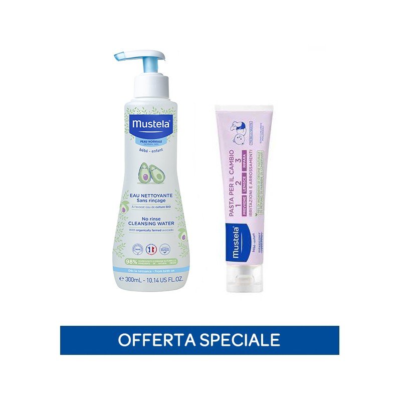 Special pack Fluido Detergente senza risciacquo+Pasta Cambio 100ml